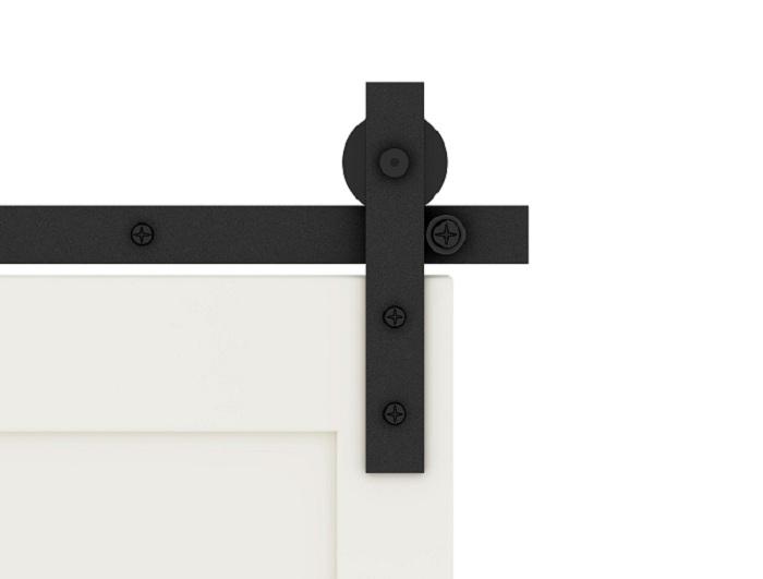 Cabinet sliding door hardware