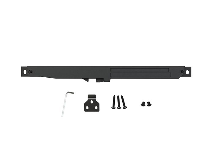 Barn Door Soft Close Mechanism Hardware Sliding Barn Door Soft Close Damper Buffer Kit Black